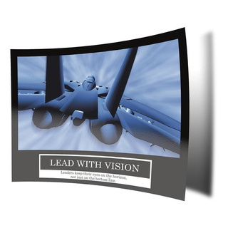 Lead with vision Poster -ORIGINAL- Barney Stinson Poster...