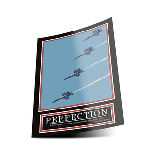 PERFECTION Poster -ORIGINAL- Barney Stinson Poster - 5/13...